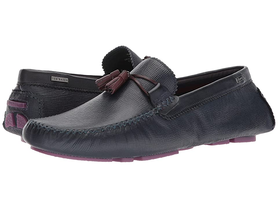 Ted Baker Urbonn (Dark Blue Leather) Men