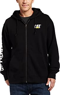 Caterpillar Men's Full-Zip Hooded Sweatshirt