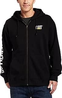 Caterpillar Men's Full Zip Hooded Sweatshirt (Regular and...