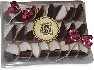 Gimmee Jimmy's Cookies Traditional Black and White Cookies | 24 Pcs