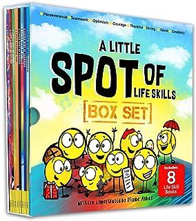 A Little SPOT of Life Skills Box Set (8 Books: Courage, Perseverance, Teamwork, Talent, Thankful, Optimism, Creativity, & ...