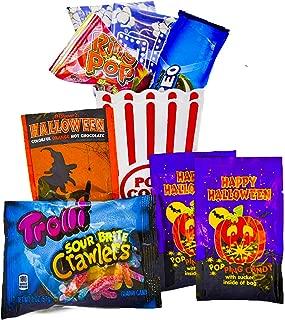 Halloween Movie Night Gift Basket Care Package