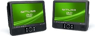 Muse M-995 CVB tragbarer DVD-Spieler (22,9 cm (9 Zoll) Display, SD/MMC-Kartenleser,..