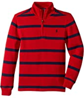 Polo Ralph Lauren Kids - Striped French-Rib Pullover (Little Kids/Big Kids)