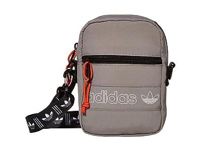 adidas Originals Originals Festival Bag Crossbody (Dove Grey) Bags