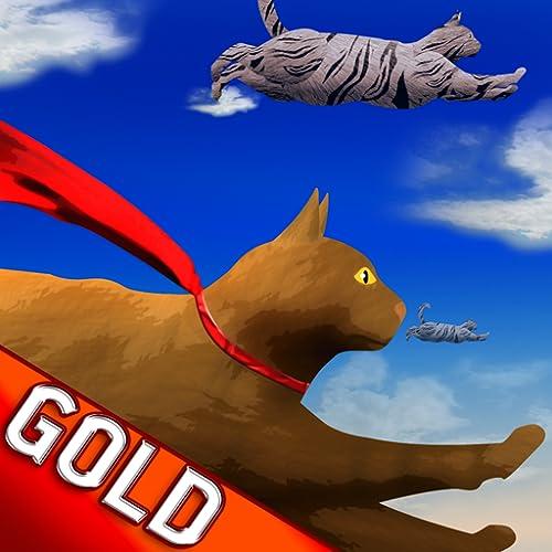voando gatos bonitos: a busca gatinho para alcançar a edição estrelas-ouro