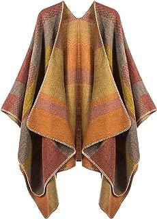 Beautiful Wrap Shawl Poncho Cape for Women Oversize Blanket Winter Sweater Ruana By Kollie More