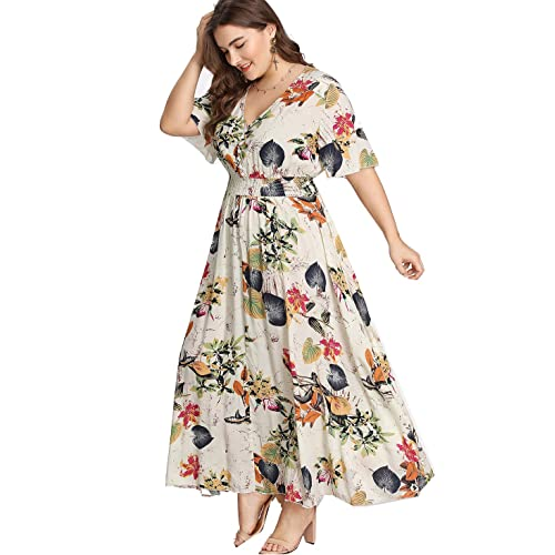 Plus Size Maxi Dresses: Amazon.com