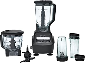 Ninja BL770 Mega Kitchen System and Blender with Total Crushing Pitcher, Food Processor Bowl, Dough Blade, To Go Cups, 150...