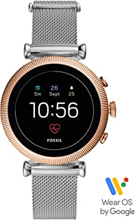 Women's Gen 4 Sloan HR Stainless Steel Touchscreen Smartwatch with Heart Rate, GPS, NFC, and Smartphone Notifications