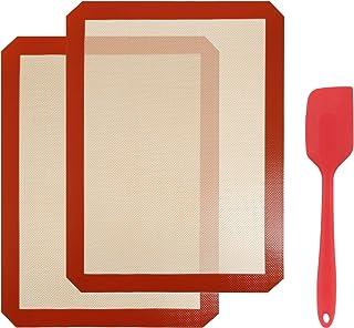 Gwhole Tapis de Cuisson en Silicone Anti-adhésif 40 x 30 cm