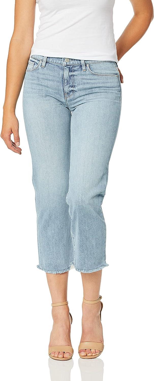 HUDSON Jacksonville Mall Women's Stella Midrise Crop Jean 5 Max 69% OFF Straight Pocket