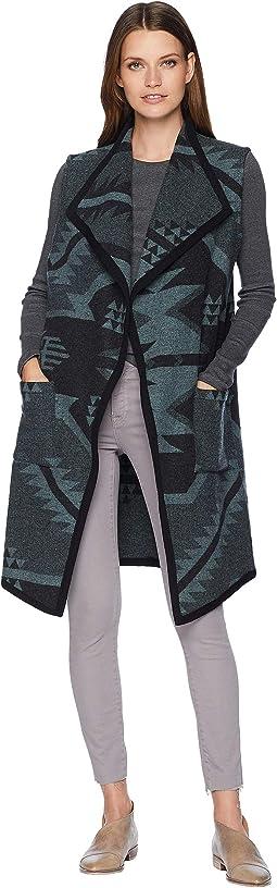 Carly Long Wool Vest