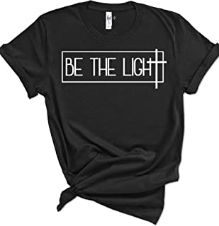 Psalm Life Be The Light Christian T-Shirt - Unisex Religious Faith Tee