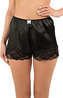 Women's Sexy Lingerie Satin Lace Briefs Panties French Knickers