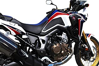 Honda Africa Twin (2016-Current) RED, WHITE, AND BLUE DESIGN SnakeSkin TechSpec Tank Grips