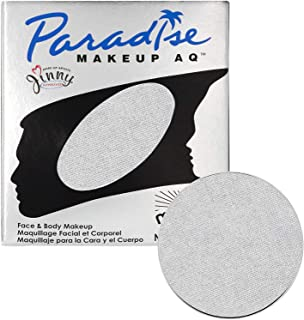 Mehron Makeup Paradise Makeup AQ Refill (.25 oz) (Brillant Argente Silver)