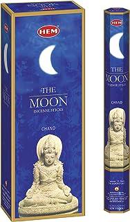 HEM - The Moon بخور چوب - بسته 6 - 120 عددی - 301 گرم
