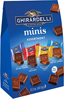 Ghirardelli Assorted Mini Squares Pouch, 12.2 Ounce, X-Large