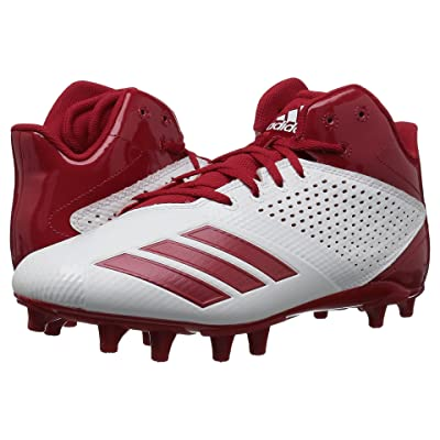 adidas 5-Star Mid Football (Core Black/Power Red/Power Red) Men