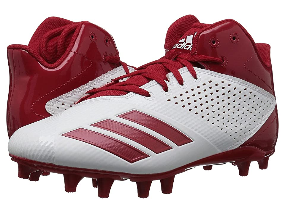 0fbf34861 adidas 5-Star Mid Football (Core Black Power Red Power Red) Men s Cleated  Shoes