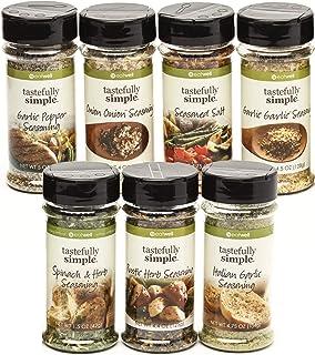 Tastefully Simple Super Seasoning Pack - 7 Pack Ultimate Seasoning Set