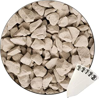 Buddystone | Aquaponic | Hydroponic Substrate | Chunky Soil Aerator | Soil Amendment | 2 Gallon Bag + THCity Stakes