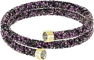 Crystaldust Double Bangle - Multi-colored - Gold Plating - Medium - 5379278