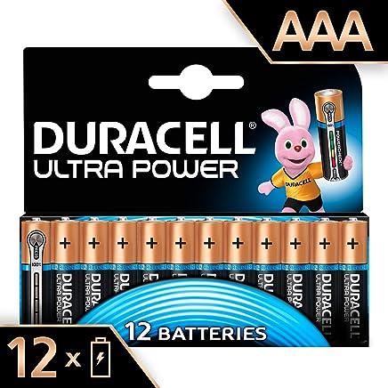 Duracell Ultra Power Type AAA Alkaline Batteries, pack of 12