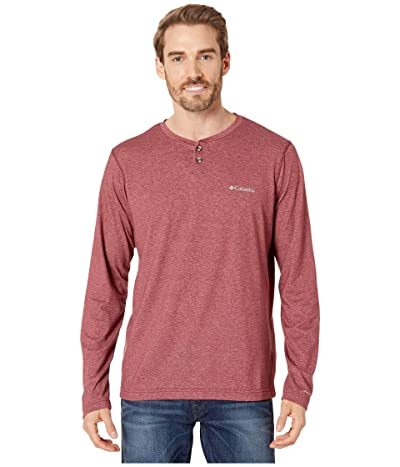 Columbia Thistletown Parktm Henley (Red Jasper Heather) Men