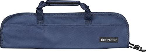 Messermeister Chef Knife Luggage, 5-Pocket, Navy, 72838