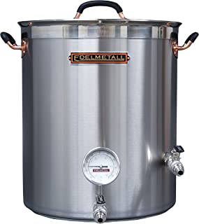Northern Brewer - Edelmetall Bru Kettle with Valve, Whirlpool Port and Thermometer (20 Gallon)