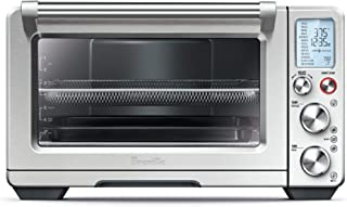 """Breville BOV900BSSUSC The Smart Toaster Oven, 17.2"""" x 21.4"""" x 12.8"""", Brushed Stainless Steel"""