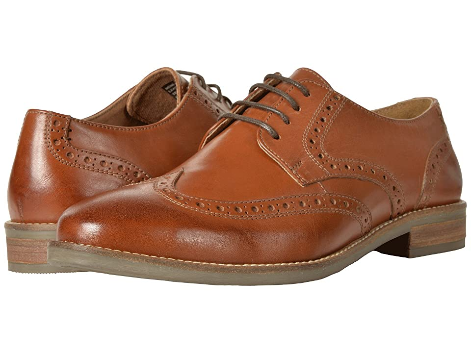 Nunn Bush Charles Wing Tip Oxford (Cognac) Men