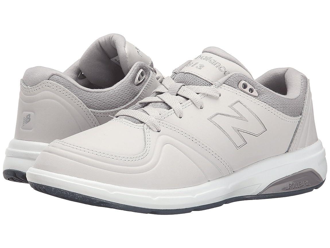 無臭今晩味方レディースウォーキングシューズ?靴 WW813 Grey 1 7 (24cm) 2A - Narrow [並行輸入品]