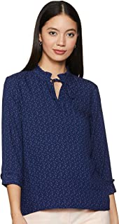 Amazon Brand - Symbol Women's Checkered Regular Fit Blouse