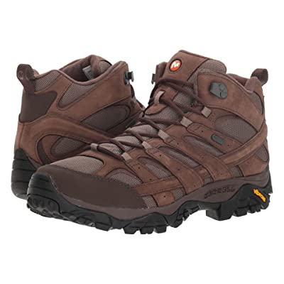 Merrell Moab 2 Smooth Mid Waterproof (Bracken) Men