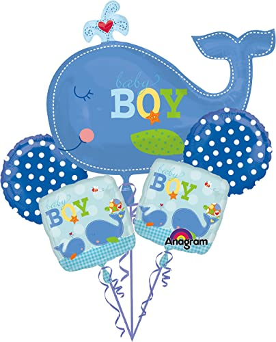 Ahoy Baby Boy Baby Shower Balloon Bouquet by Anagram