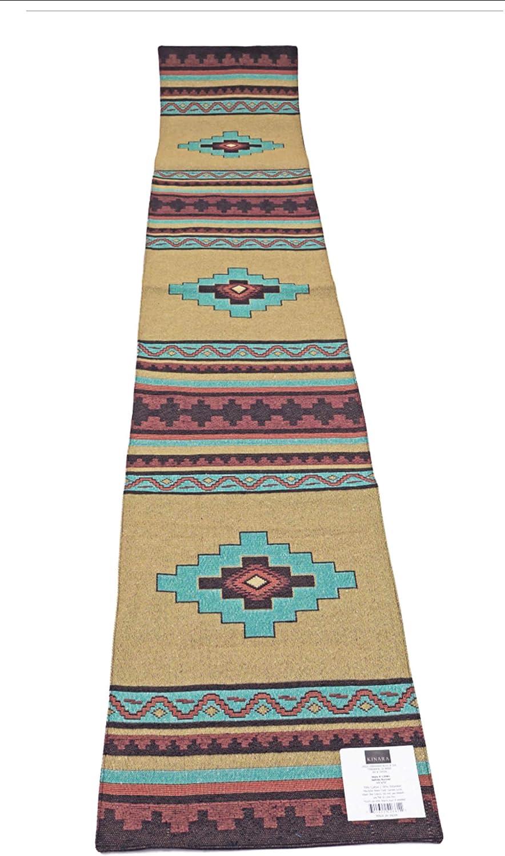 Kinara Saltillo American Southwestern Design Runner Limited price sale Desert Year-end gift Table
