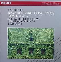 J.S.BACH BRANDENBURG CONCERTOS NOS.1,2&3 J.S.バッハ:ブランデンブルク協奏曲 第1~3番