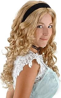 alice in wonderland white queen wig