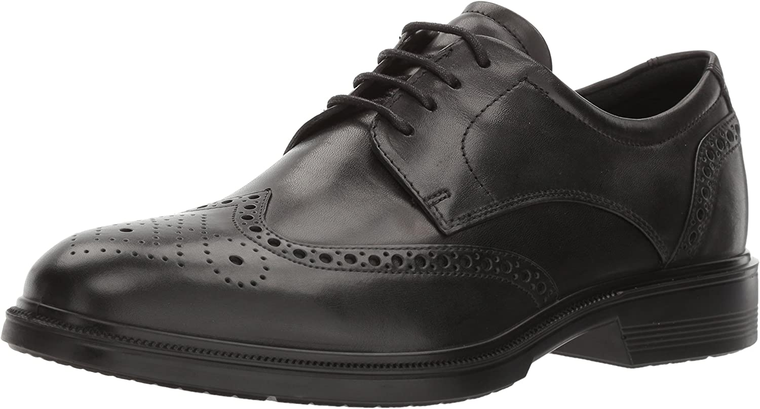 ECCO shoes Men's Lisbon Brogue Tie Oxfords