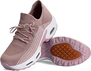 Mishansha Scarpe da Ginnastica Donna Mesh Air Scarpe da Palestra Leggero Antiscivolo Scarpe Corsa Fitness Jogging Casual G...