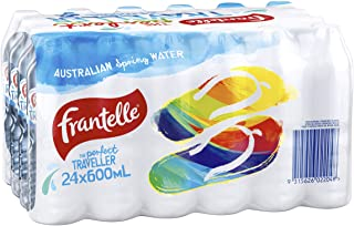 Frantelle Spring Water, 24 x 600ml