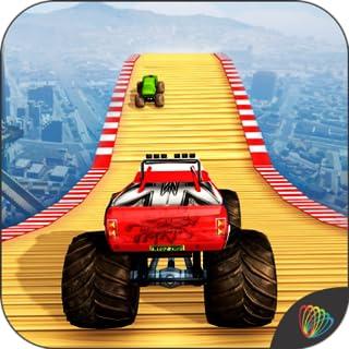 Hot Monster Truck Stunts Racing - Truck Simulator New Game 2020