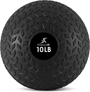 featured product ProSource Fit Slam Medicine Balls 5,10,15,20,25,30, 50lbs Smooth and Tread Textured Grip Dead Weight Balls for Crossfit, Strength and Conditioning Exercises, Cardio and Core Workouts