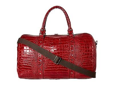 Patricia Nash Milano Weekender Patchwork (Red) Weekender/Overnight Luggage