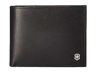 Victorinox Altius Edge Appolonios Slim Bifold Wallet w/ RFID (Black) Bi-fold Wallet