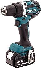 MAKITA DDF484RTJ taladro, 450 W, 18 V, Negro, Azul