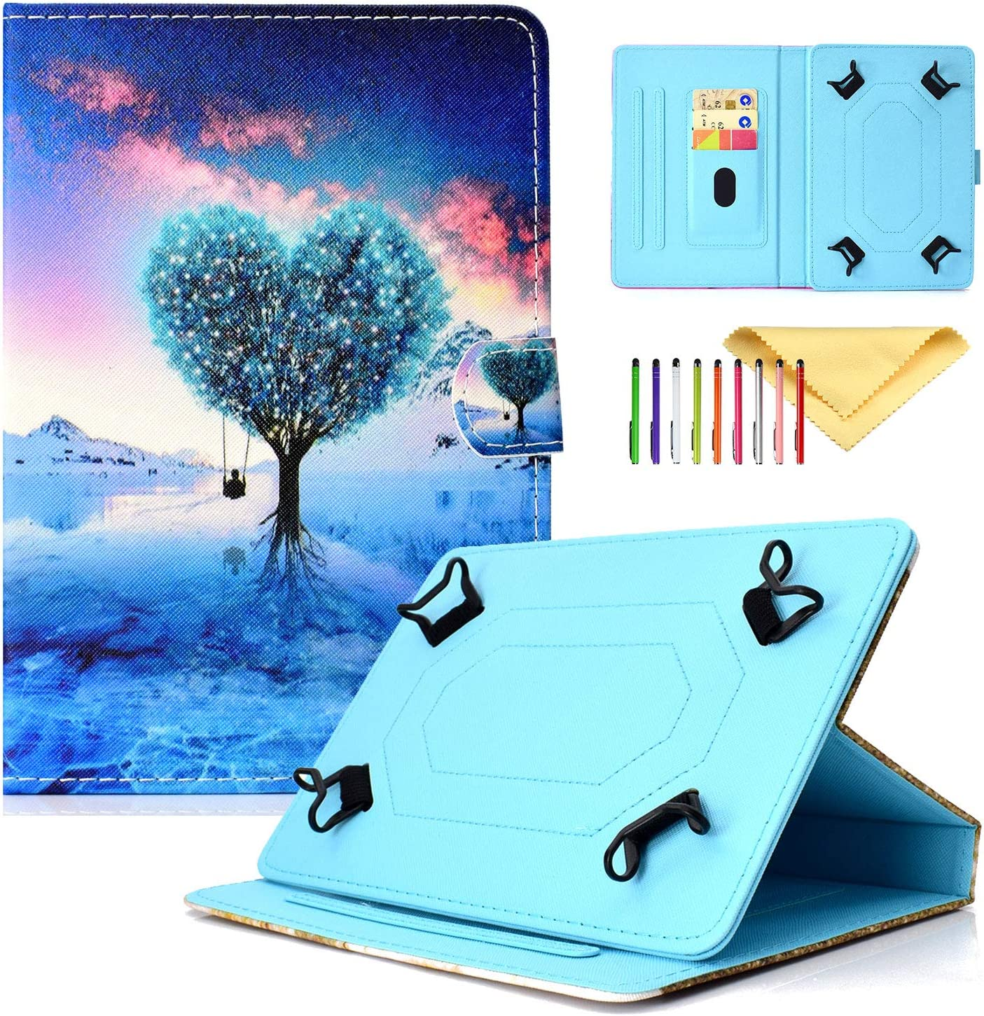 Cookk Universal Cases and Covers for iPad T Mini 1 4 2 Choice 3 Baltimore Mall Galaxy